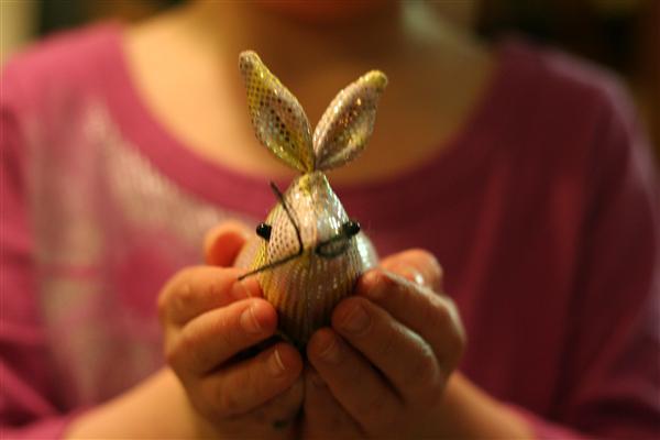 sparkly bunny